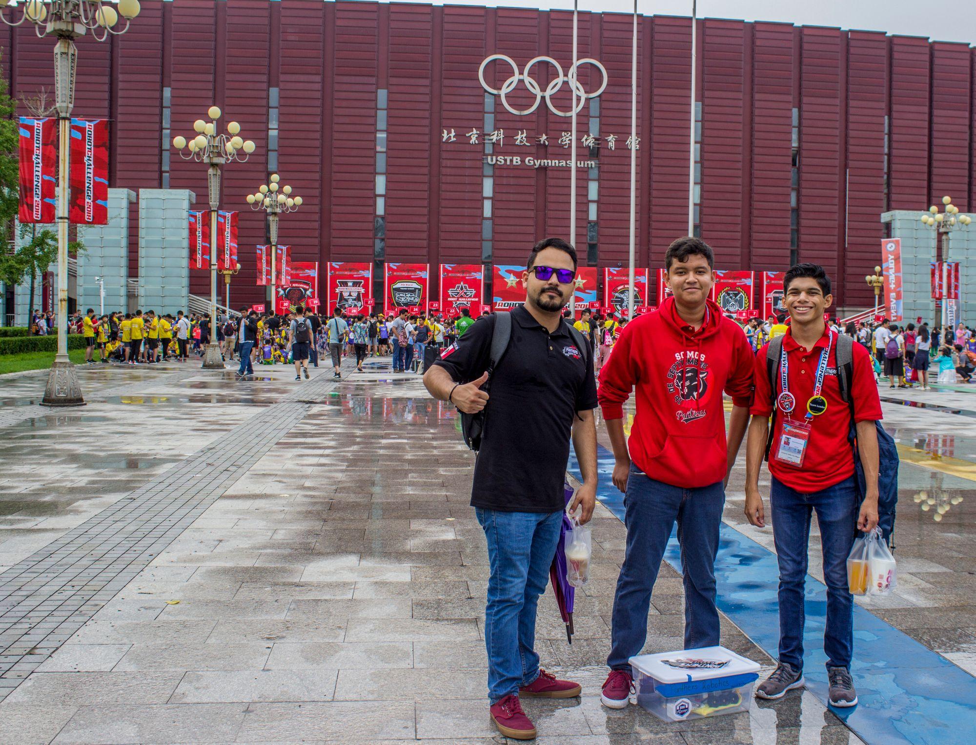 Aventura, Desafío y Experiencia: El Robot Challenge China 2018