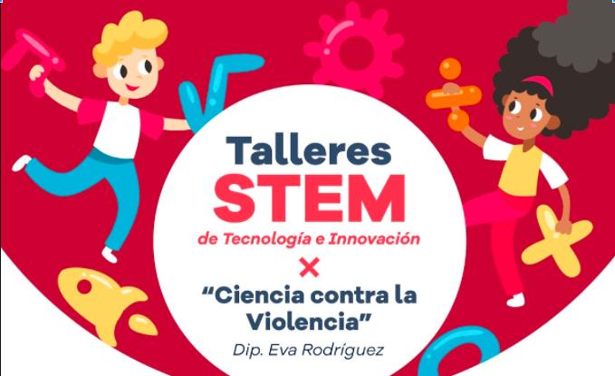 """Talleres STEM de """"Tecnología e Innovación"""" -Dip Eva Rodríguez (Online)"""