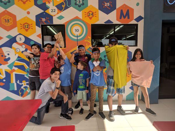 Reto STEAM de Superhéroes en Innovation Summer Garage Hub
