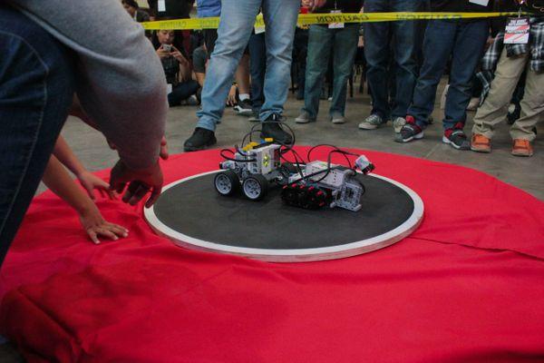 THE ROBOT BATTLEGROUNDS