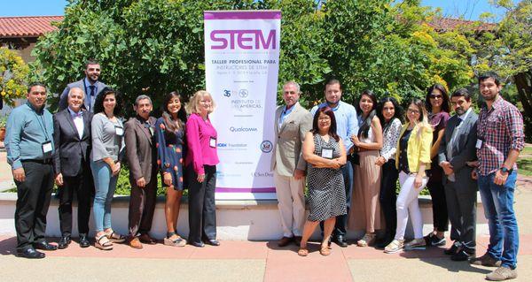 Taller Profesional para Instructores STEM: La Jolla, California, 5-9 Agosto de 2019
