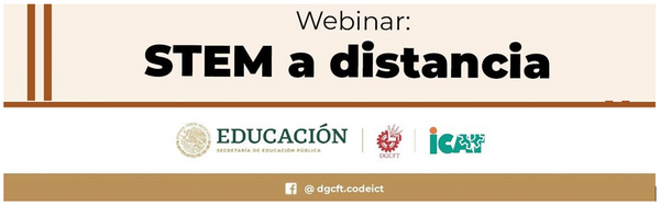 Webinar: STEM a Distancia