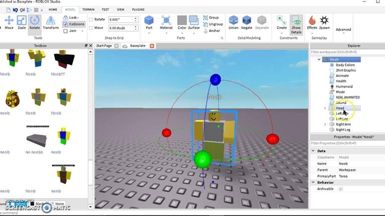 ROBLOX STUDIO 2 Hacking video games Workshops
